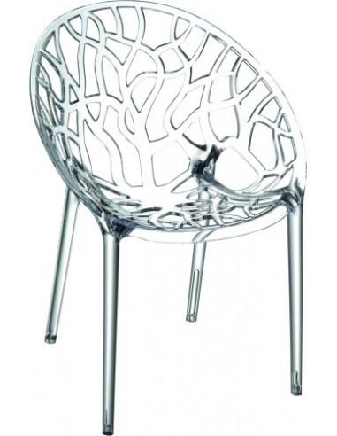 silla apilable Coral Crystal sho103244
