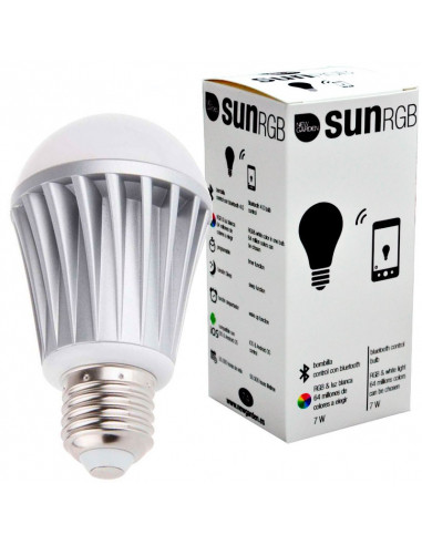 Sun RGB bulb controlled by smartphone lil1146016