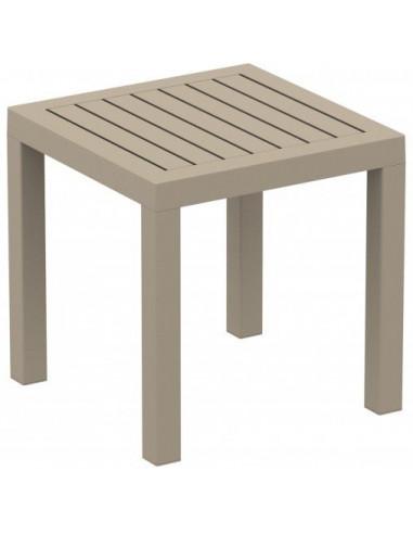 Mesa auxiliar CLICK CLACK para o exterior conjunto sofás para jardim