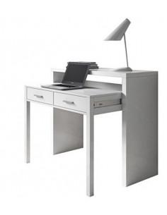 Bureau - console extensible blanc mju2010005