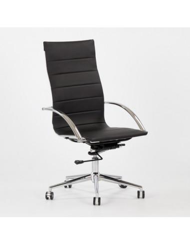 Swivel chair in ECOLEATHER sdi887006