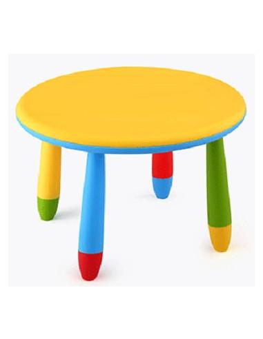 mesa infantil redonda cpu2005002 con taburetes