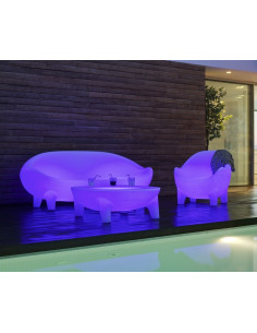 Sofà jamaica terrassa amb llum o sense llum chill out sho1146003