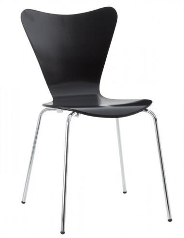 Sedia in legno tipo jacobsen dho1040013