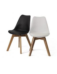 sedia Scandinavia base di legno di quercia sho887001