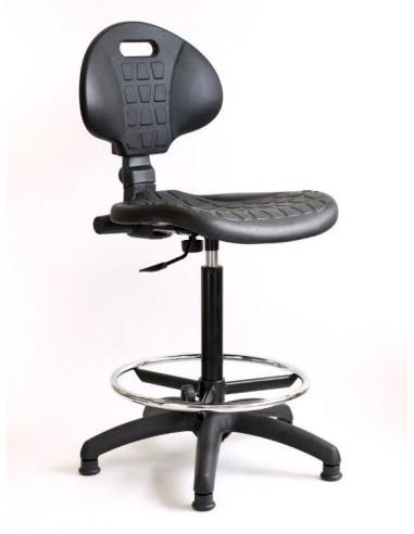 Factory draughtsman task operator swivel chair sop72014