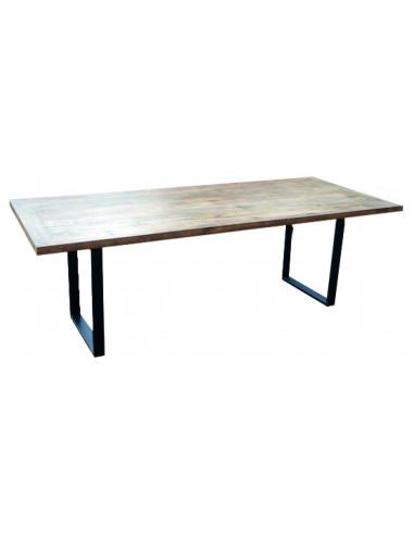 Mesa vintage de madeira maciça ME04 mho1022003