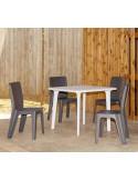 Mesa de esplanada DESSA mho1032052 exemplo com cadeira lama