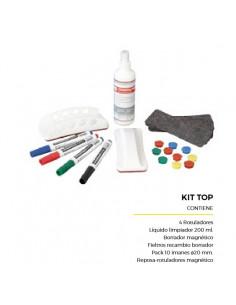 Kit Top de suplementos para quadro branco laminado branco comp407002