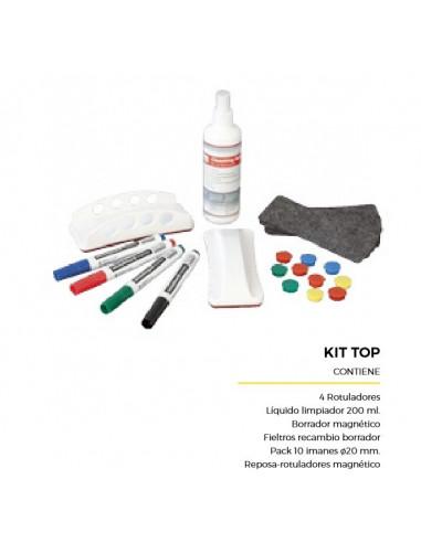 Kit Top de complementos para pizarra laminada blanca comp407002