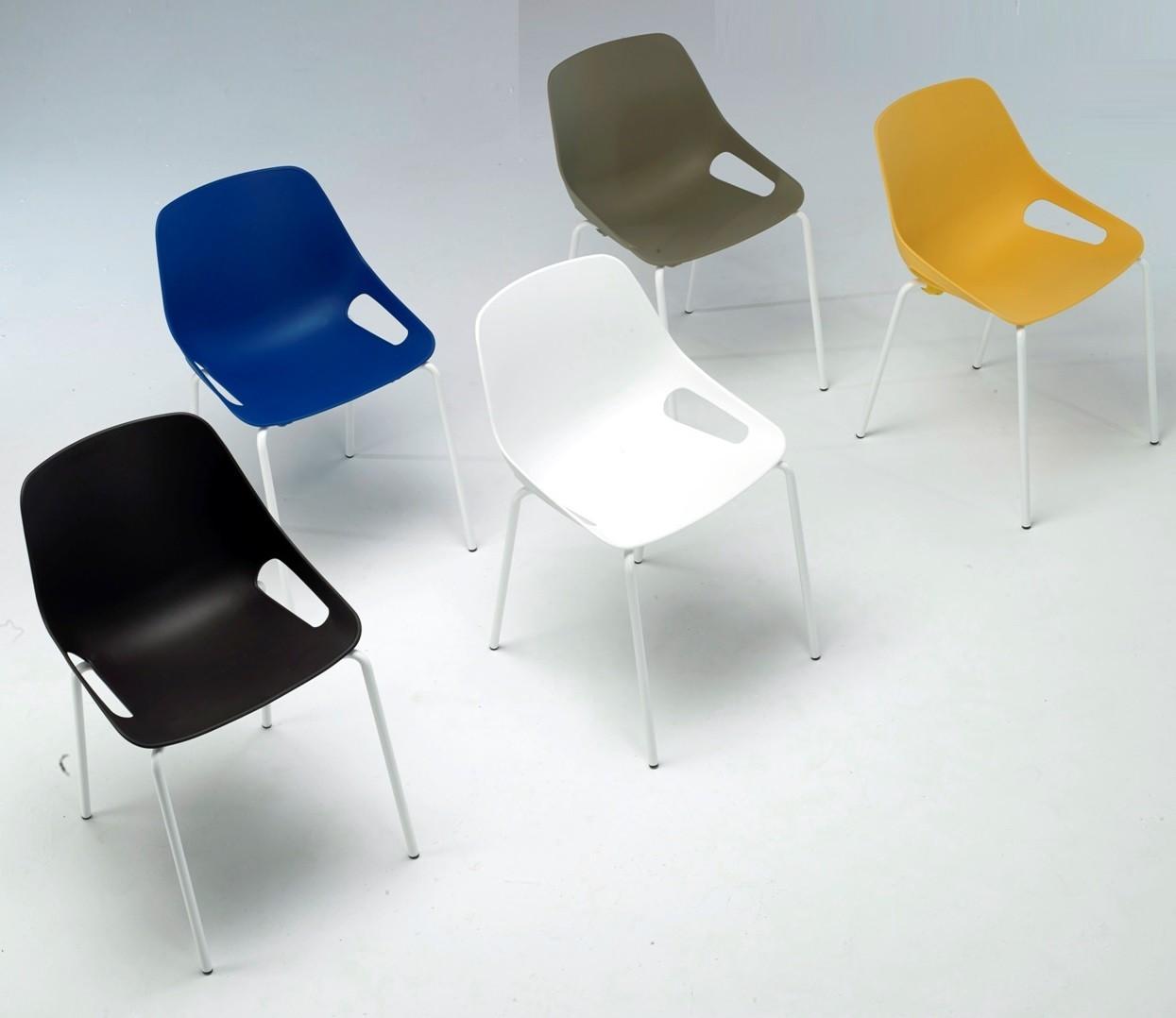 Sillas De Colores Para Oficina.Silla Polivalente De Oficina Mobiliario De Oficina Online
