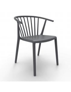 Cadira WOODY RESOL apilable de terrassa e interiorsho1032091