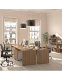 140x80cm Mesa oficina madera QUO mop1101005