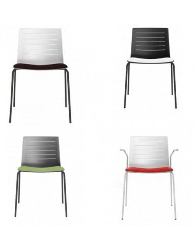 Suplement seient entapissat de cadires SKIN VILAGRASA by RESOL sho1032095