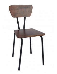 Chaise en bois massif Vintage BOSTON sho1022002