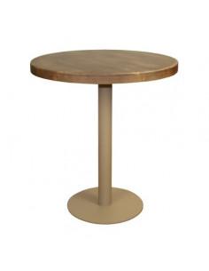 Table ronde vintage pour restaurant mho1100009